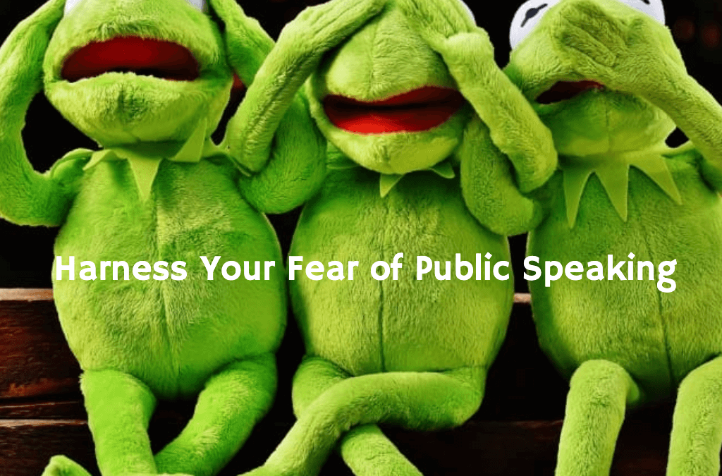 Resolve to Fear No More in 2020 (Harness Your Fear of Public Speaking)