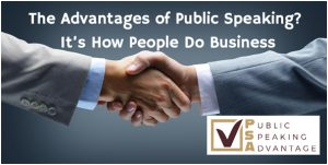 Advantage of public speaking